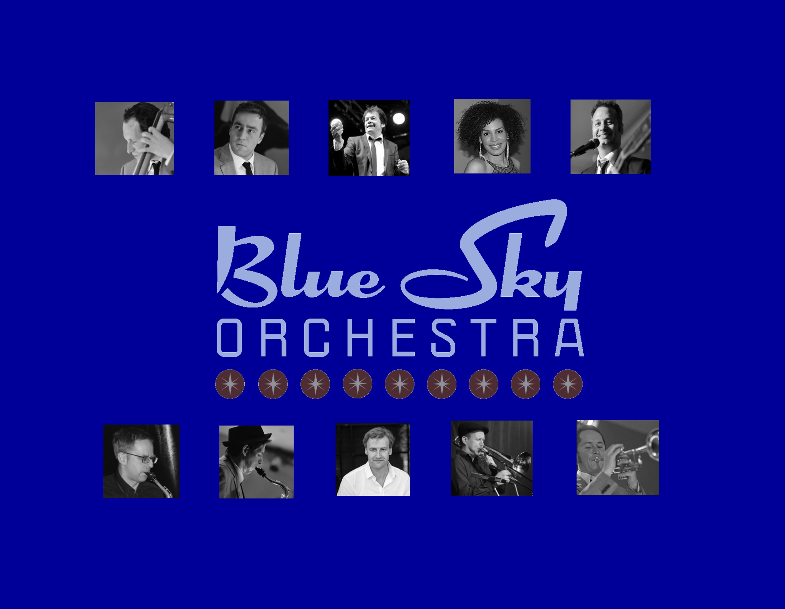 BlueSkyOrchestraHP Band blau